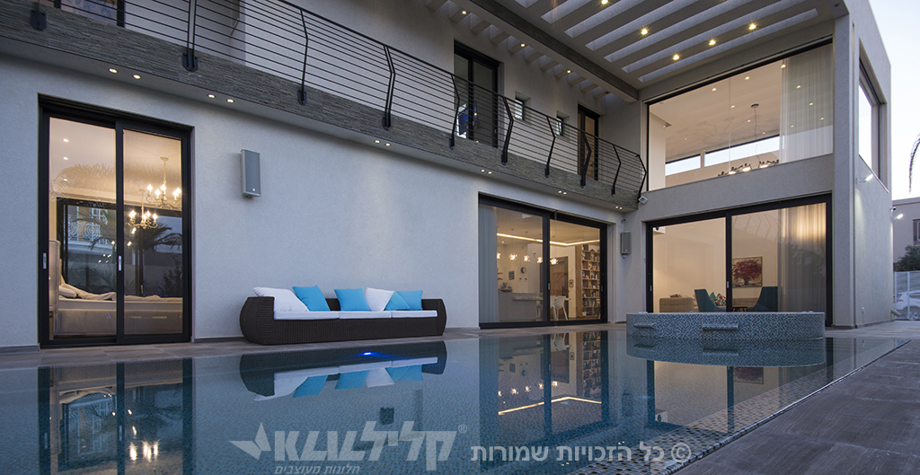 Klil doors in a designed house