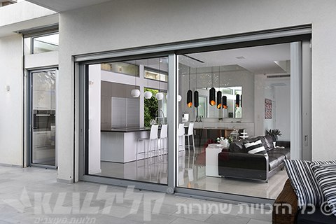 Klil touch-sliding doors