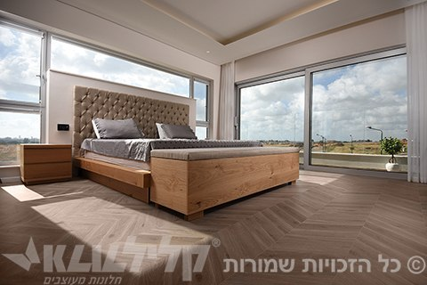 Designed windows -Bedroom