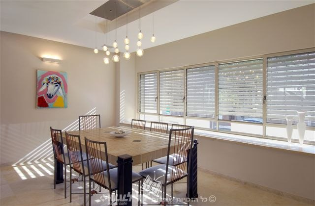 Lath shutters-dining room